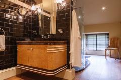 Art Deco Burr Oak Gentleman's Bathroom