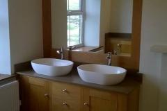 Double Washbasin with Vanity Unit