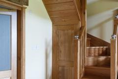 Solid Oak Stair Case