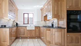 Solid American White Oak Kitchen
